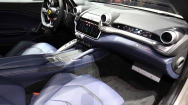Ferrari GTC4 Lusso - Geneva show interior