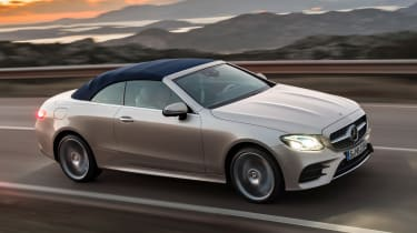 Mercedes E-Class Cabriolet 2017 - AMG Line side tracking 2