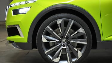 Skoda Vision X concept - wheel