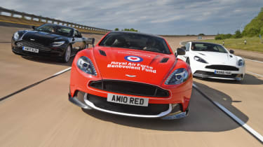 Our year in cars - Aston Martin Red Arrows