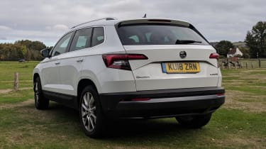 skoda karoq static rear long termer