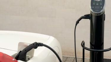 Electric Aston Martin DB6 Mk2 Volante - charging cable