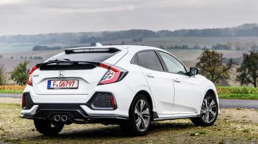 Honda Civic 2016 prototype - rear quarter