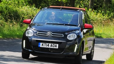 The Citroen C1 has a bold face but practicality concerns let it down.