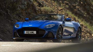 Aston Martin DBS Superleggera Volante - front action