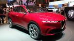 Alfa Romeo Tonale - Geneva front
