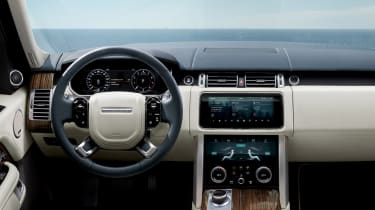 Range Rover review - interior