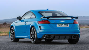 Audi TT RS Coupe - rear static