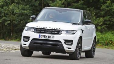 Used Range Rover Sport - front cornering