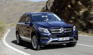 Mercedes GLE 2015 front