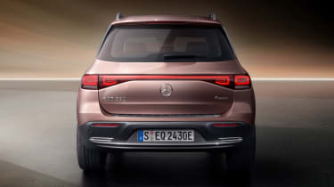 Mercedes EQB - full rear