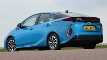 Toyota Prius - rear static