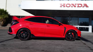 Honda Civic Type R long-term test review - side