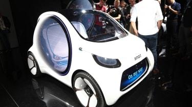 Smart Vision EQ ForFour concept - Frankfurt front
