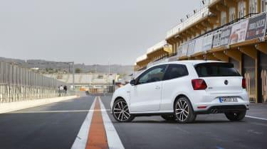 VW Polo GTI - rear static