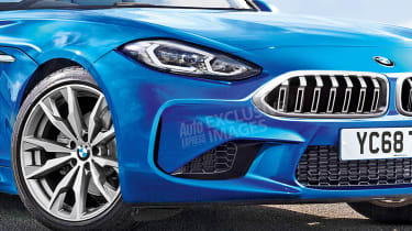 BMW Z4 - front details (exclusive images)