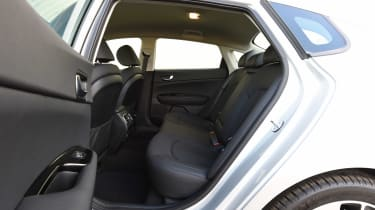 Kia Optima - rear seats