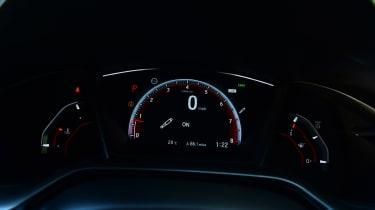 Honda Civic - speedo