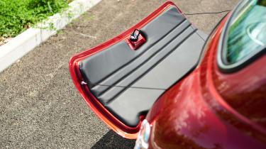 David Brown Mini Remastered - boot lid