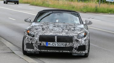 New BMW Z4 turning