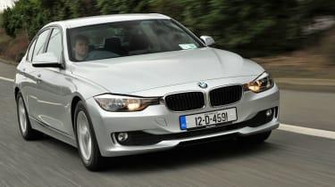 BMW 320d EfficientDynamics front tracking
