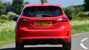 Ford Fiesta ST-Line rear end
