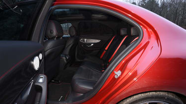 Mercedes-AMG C 43 - rear seats