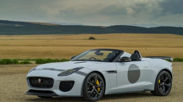 <span>Everything is ramped-up from the F-Type and the result is a greater connection with the road surface.</span>