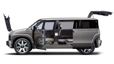 New Toyota Tj Cruiser concept - side profile