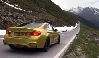 BMW M4 video