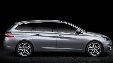 Peugeot 308 SW profile