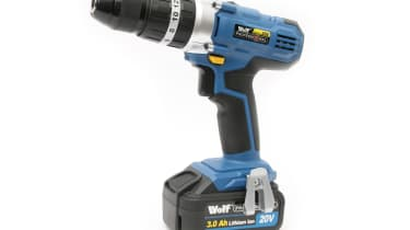 Wolf Professional 106247 cordless drill