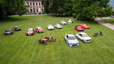 BMW Hommage - group