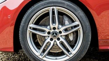 Mercedes E-Class Coupe - UK wheel