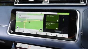 Range Rover Velar - sat-nav