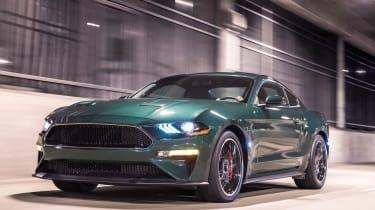 Ford Bullitt Mustang GT - front action