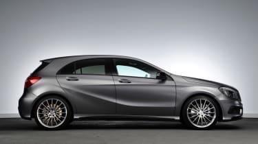 Mercedes A45 AMG profile