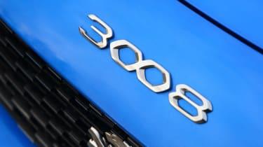 New Peugeot 3008 facelift 2020 badge