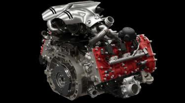 Ferrari 296 GTB - engine 2