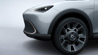 Smart SUV concept - front detail