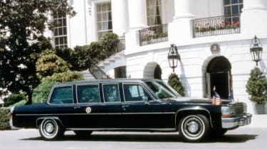 1984 Cadillac Fleetwood Seventy Five Presidential Limousine - President Ronald Reagan