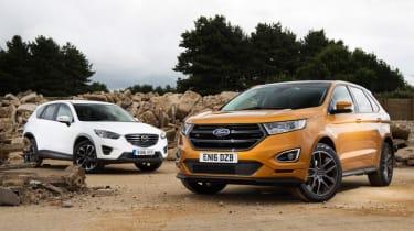 Ford Edge vs Mazda CX-5