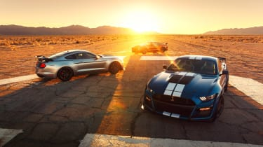 Ford Mustang Shelby GT500 - sunset
