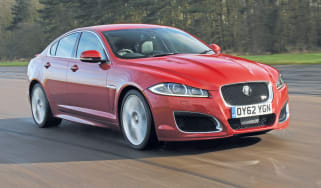Jaguar XFR Speed Pack front tracking