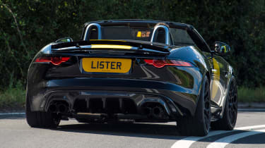 Lister LFT-C - rear cornering