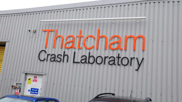 Cars are taken apart and fixed by Thatcham, as it seeks best possible repair methods.