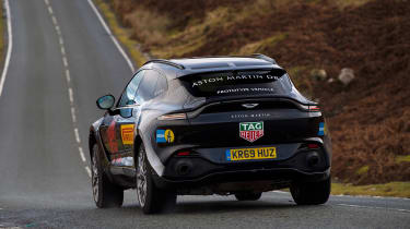 Aston Martin DBX prototype - rear action