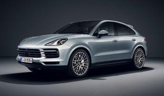 Porsche Cayenne S Coupe - front