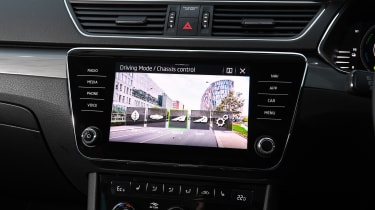 Skoda Superb iV - screen