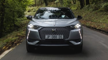 DS 3 Crossback E-Tense - front tracking